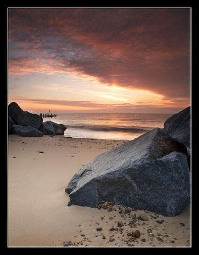 Southwold Rocks by Chriscj