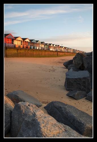 Beach Huts by Chriscj