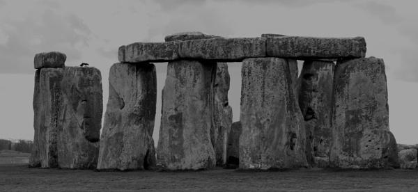 Stonehenge B/W by gma