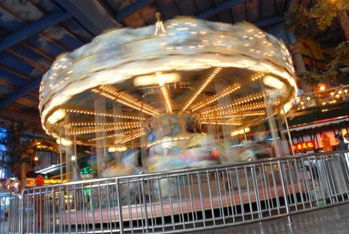 Merry -go-round by mariner