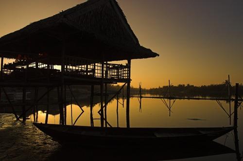 Vietnam Sunrise by Hedgehog