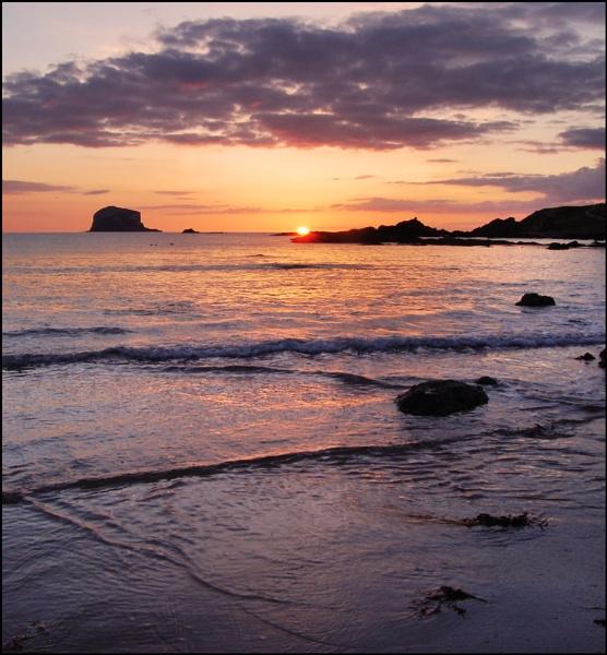 Bass Rock Sunrise by motman