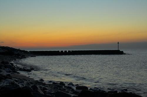 Felixstowe at dawn by admiles