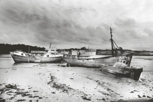 Abandoned Fishing Boats 2 by GDobson