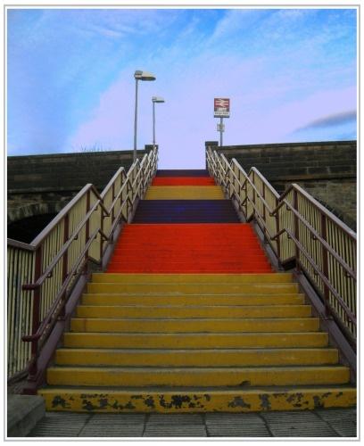 Colourful Climb by midgemckay