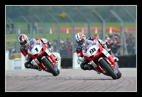 Two riders race by NickEade