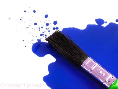 Brush Blue by JamesAB