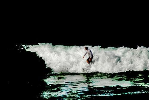 Surfer again by Jaye