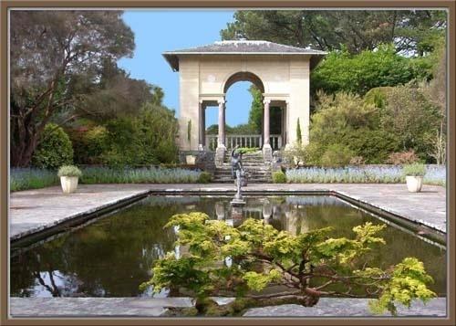 Italian garden by vonny