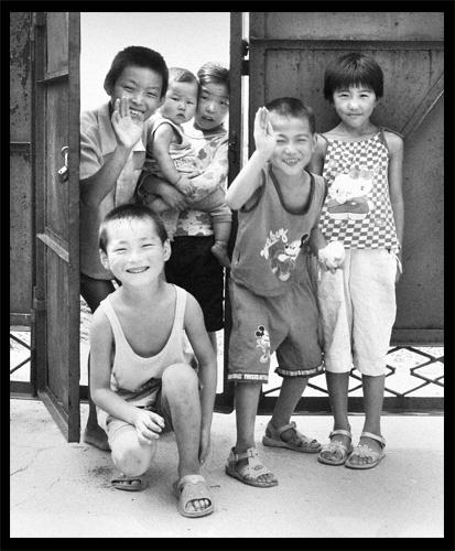 Village kids, China by GDobson