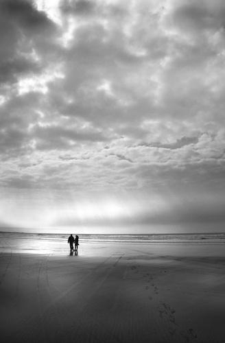 On the beach by GDobson