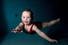 Baby swim #2