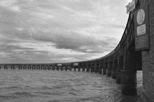 Tay Rail Bridge by Bexphoto