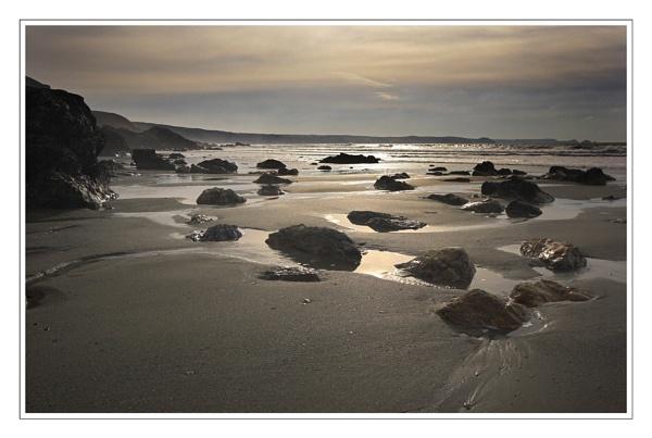 Tregardock Beach by eos3