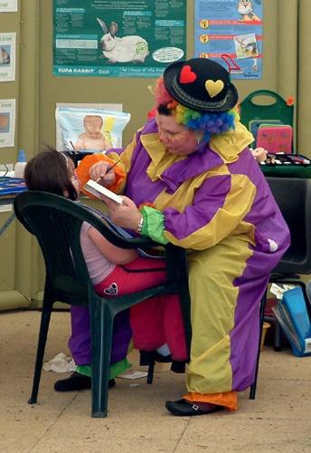 Clown by Fran