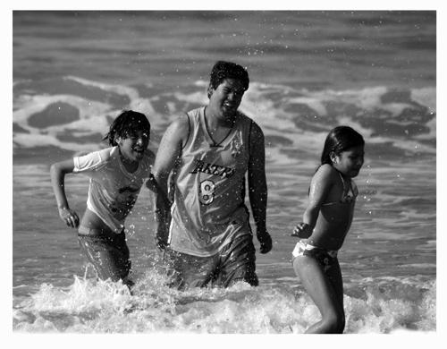 beach by miralles