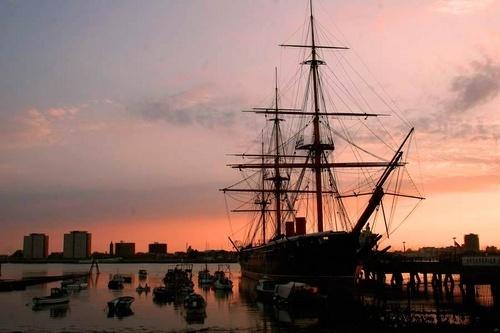 HMS Warrior by Kali