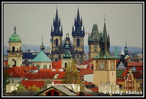 30 April, Sunny Sunday in Prague by GeorgeRusky
