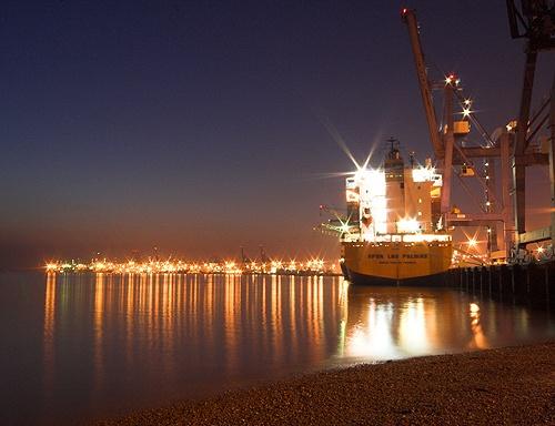 Port of Felixstowe by admiles