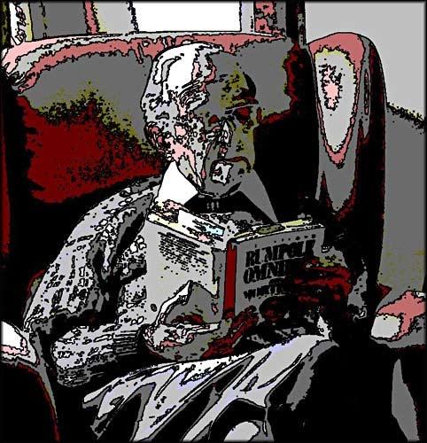 Dad Reading by BlueRoom