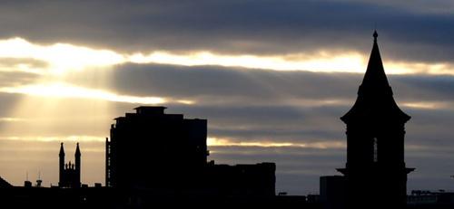 Manchester skyline by jayhawk2000
