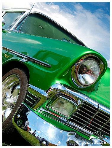 Green Chevy by AntonyB