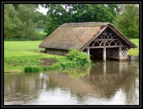 Warwick Castle Boathouse by LoobyLoo_C