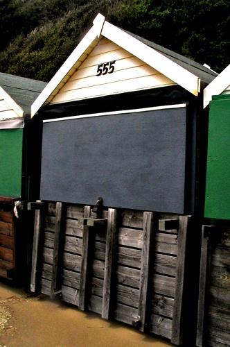 beach hut 555 by bigbrum