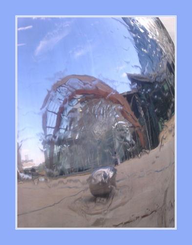 Steel city Reflections by CaroleA