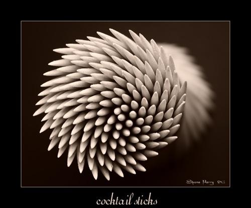cocktail sticks by Sheenanigans