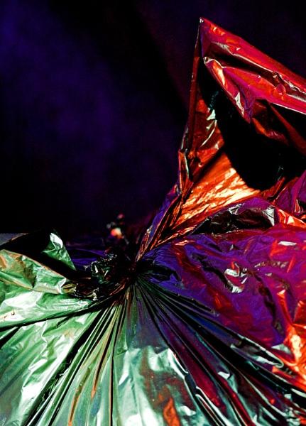 Abstract Bin Bag by redbulluk