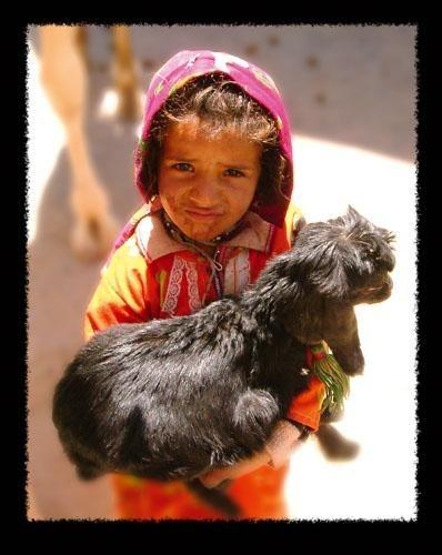 Desert Girl by lynsfiona