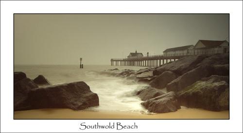 Southwold Beach by chrissycj