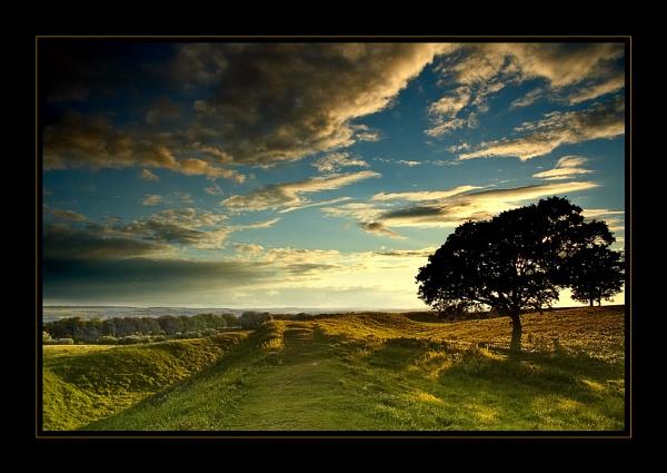 Badbury View by CathyT