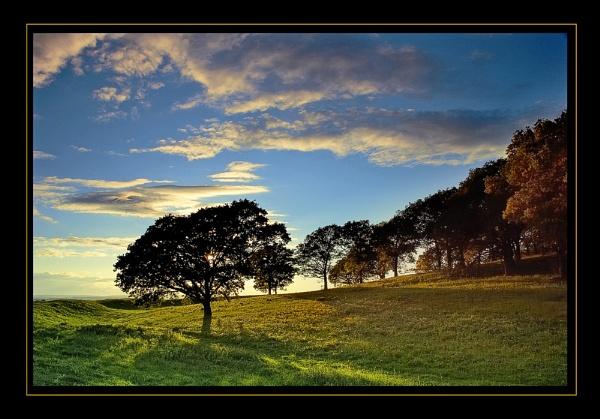 Badbury Sky by CathyT
