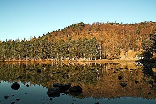 Loch an Eileen by ivory