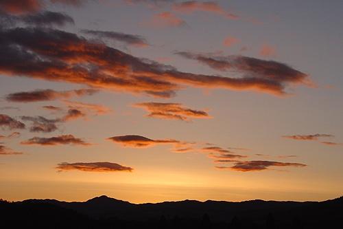 Scottish Sunset by ivory