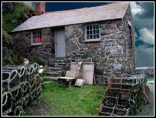 Fisherman Cottage by CornishEyes