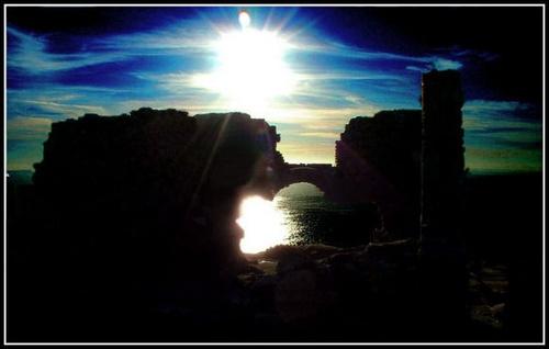 rocks @ dawn by CornishEyes