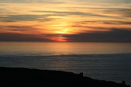 Geevor Sunset by Juddbert