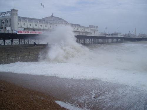 Brighton Wave by sivraj494
