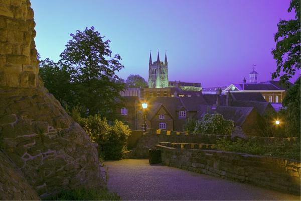 Evening at Tamworth Castle by bill j