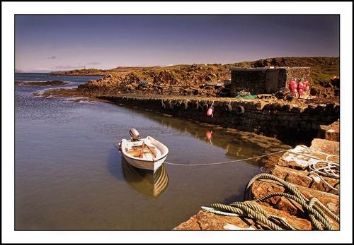 Quiet Harbour by jeanie