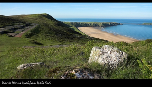 Worms Head View? by mark_elford