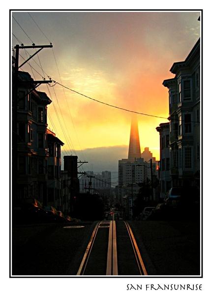 San Fransunrise by timwilson