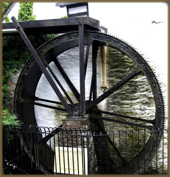 water wheel by irenefosher