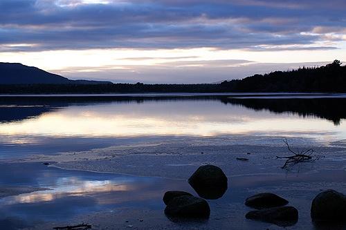 Loch Morlich sunrise by ivory