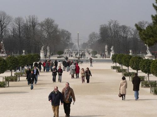 The Tuileries by KingBee