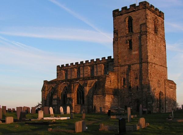 evening church by Gazzten