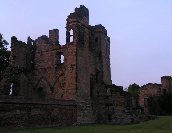 Castle Ruins by Gazzten
